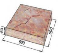 Тротуарная плитка 500х500 мм